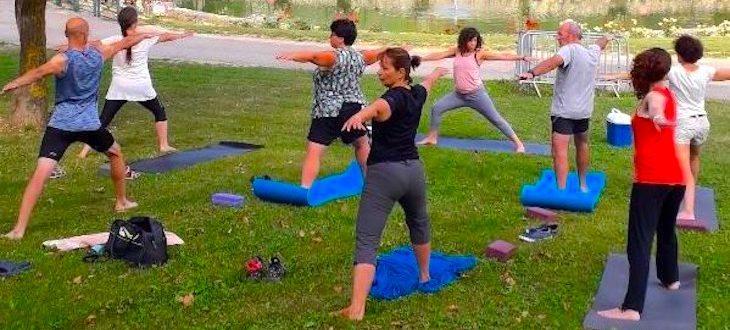 Stage de Yoga pour se reconnecter à soir même à Roquefeuil