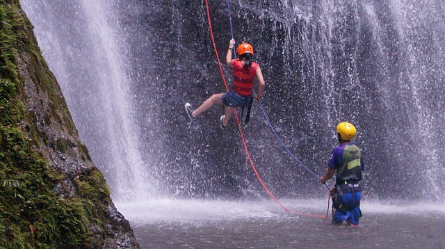 canyoning camping la mare aux fées